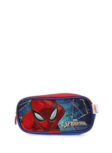 Koton Koton Tek gözlü Spiderman  Kalem Çantası Lacivert